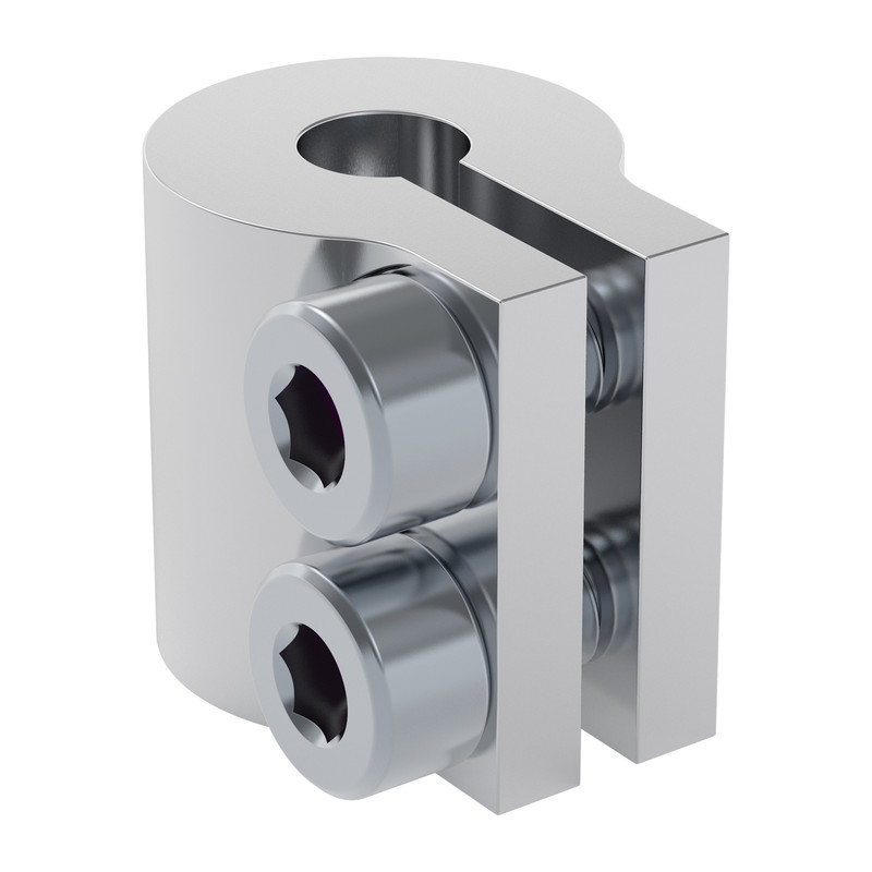4000-0005-0008 - 4000 Series Clamping Shaft Coupler (5mm Round Bore to 8mm Round Bore)