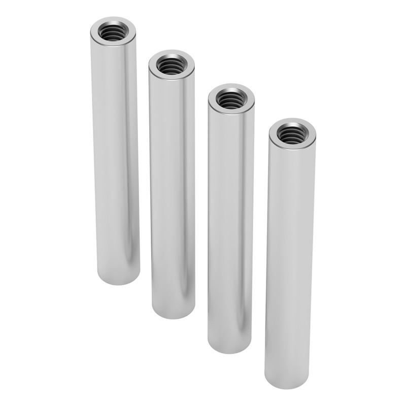 1501-0006-0430 - 1501 Series M4 x 0.7mm Standoff (6mm OD, 43mm Length) - 4 Pack