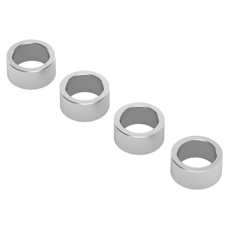 1512-0008-0040 - 1512 Series 6mm ID Spacer (8mm OD, 4mm Length) - 4 Pack