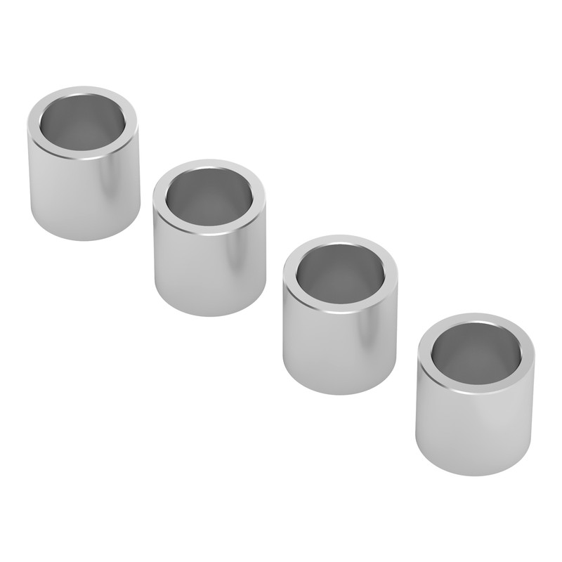 1512-0008-0080 - 1512 Series 6mm ID Spacer (8mm OD, 8mm Length) - 4 Pack