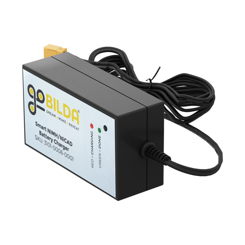 3101-0006-0001 - 6V Battery Charger (NiCad/NiMH, 6-1)