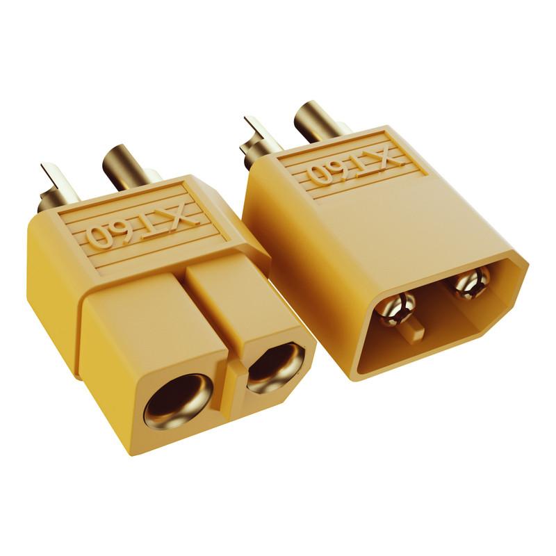 3803-1516-0505 - XT60 Connector Pack (MH-FC x 5, FH-MC x 5)