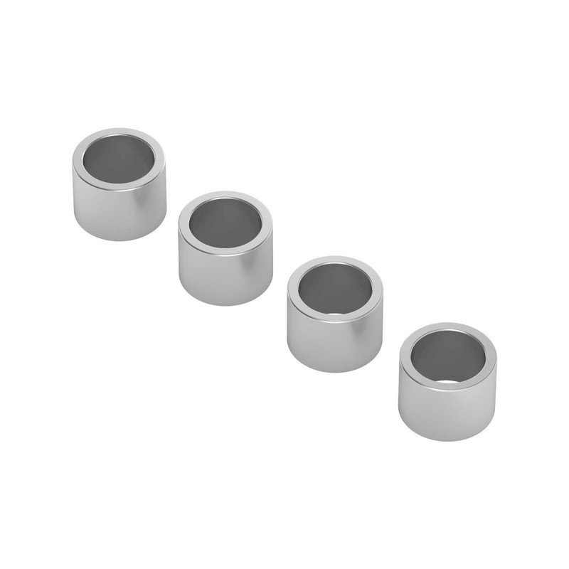 1512-0008-0060 - 1512 Series 6mm ID Spacer (8mm OD, 6mm Length) - 4 Pack