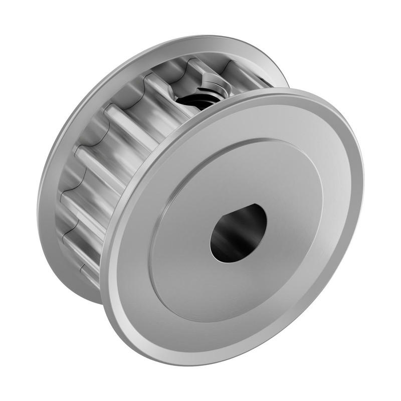 3414-1006-0016 - 3414 Series 5mm HTD Pitch Set Screw Pinion Timing Belt Pulley (6mm D-Bore, 16 Tooth)