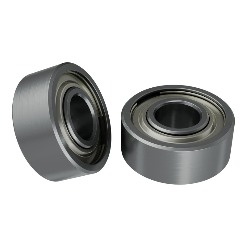 1600-0410-0004 - 1600 Series Non-Flanged Ball Bearing (4mm ID x 10mm OD, 4mm Thickness)