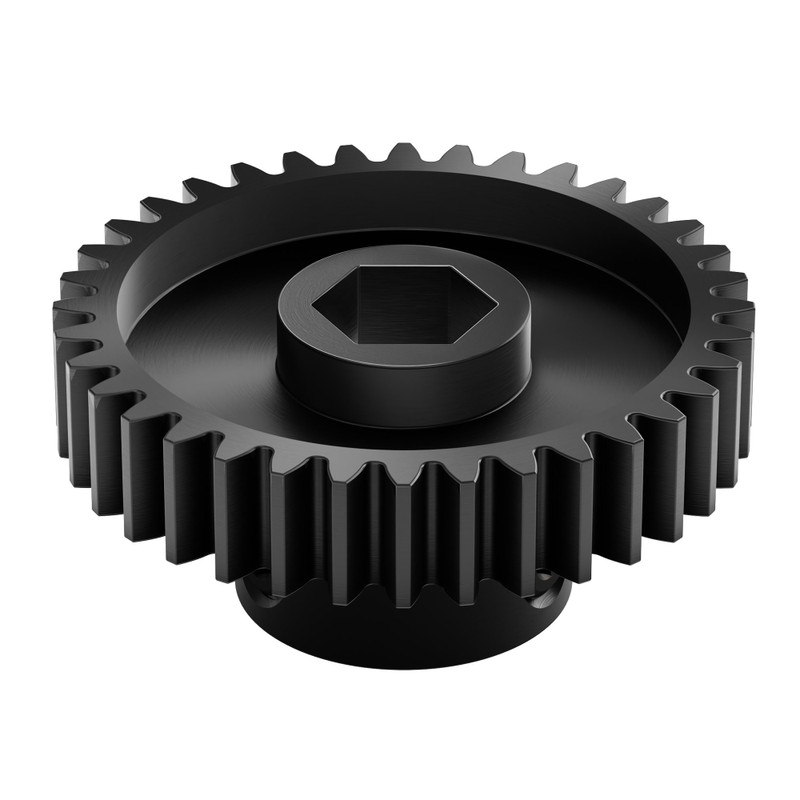 2303 Series Steel, MOD 0.8 Pinion Gear (8mm REX Bore, 36 Tooth)