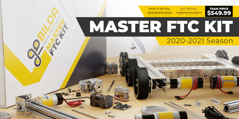Master FTC Kit (6mm D-Shaft, 2020-2021 Season)