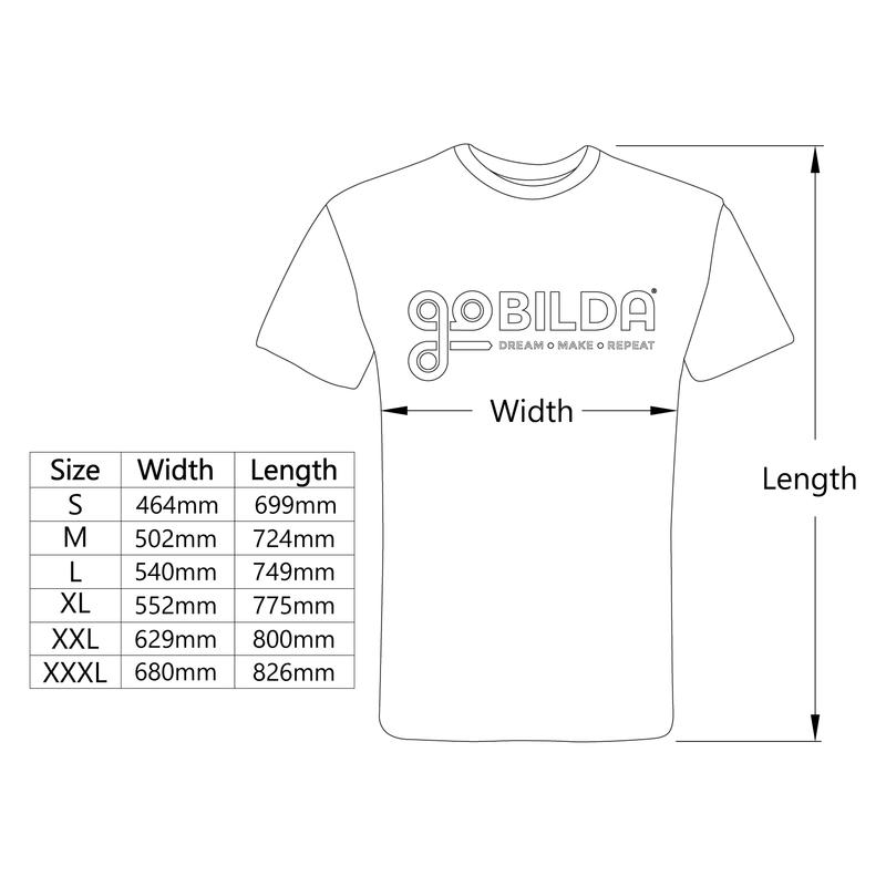 goBILDA Classic T-Shirt