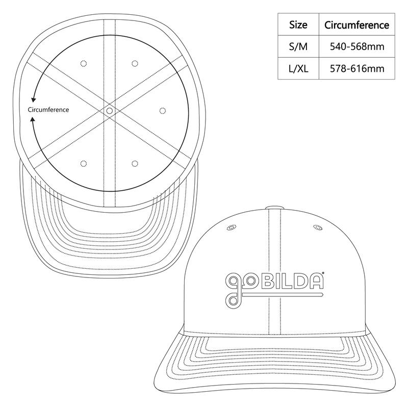 goBILDA Dark Matter Hat