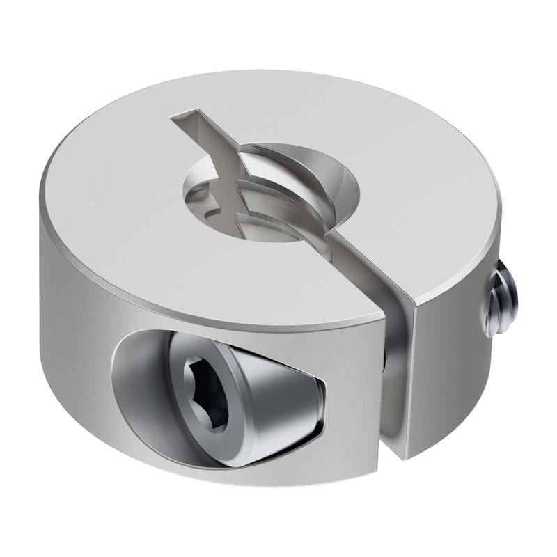 3504 Series Lead Screw Clamping Collar (8mm Lead, 4 Start, 21mm OD, 9mm Length)