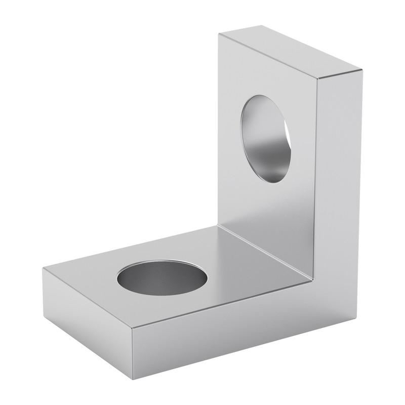 1103-0001-0008 - 1103 Series L-Beam (1 Hole, 8mm Length) - 2 Pack