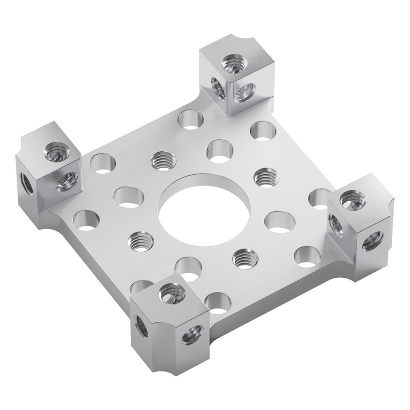 1201-0043-0002 - 1201 Series Quad Block Pattern Mount (43-2)