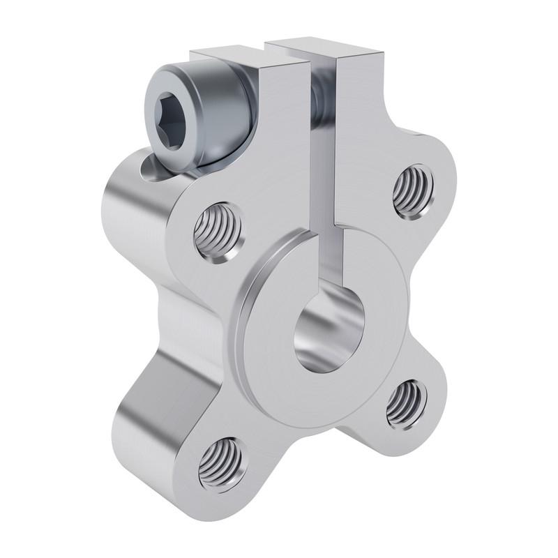 1301-0016-0006 - 1301 Series Clamping Hub (6mm Bore)