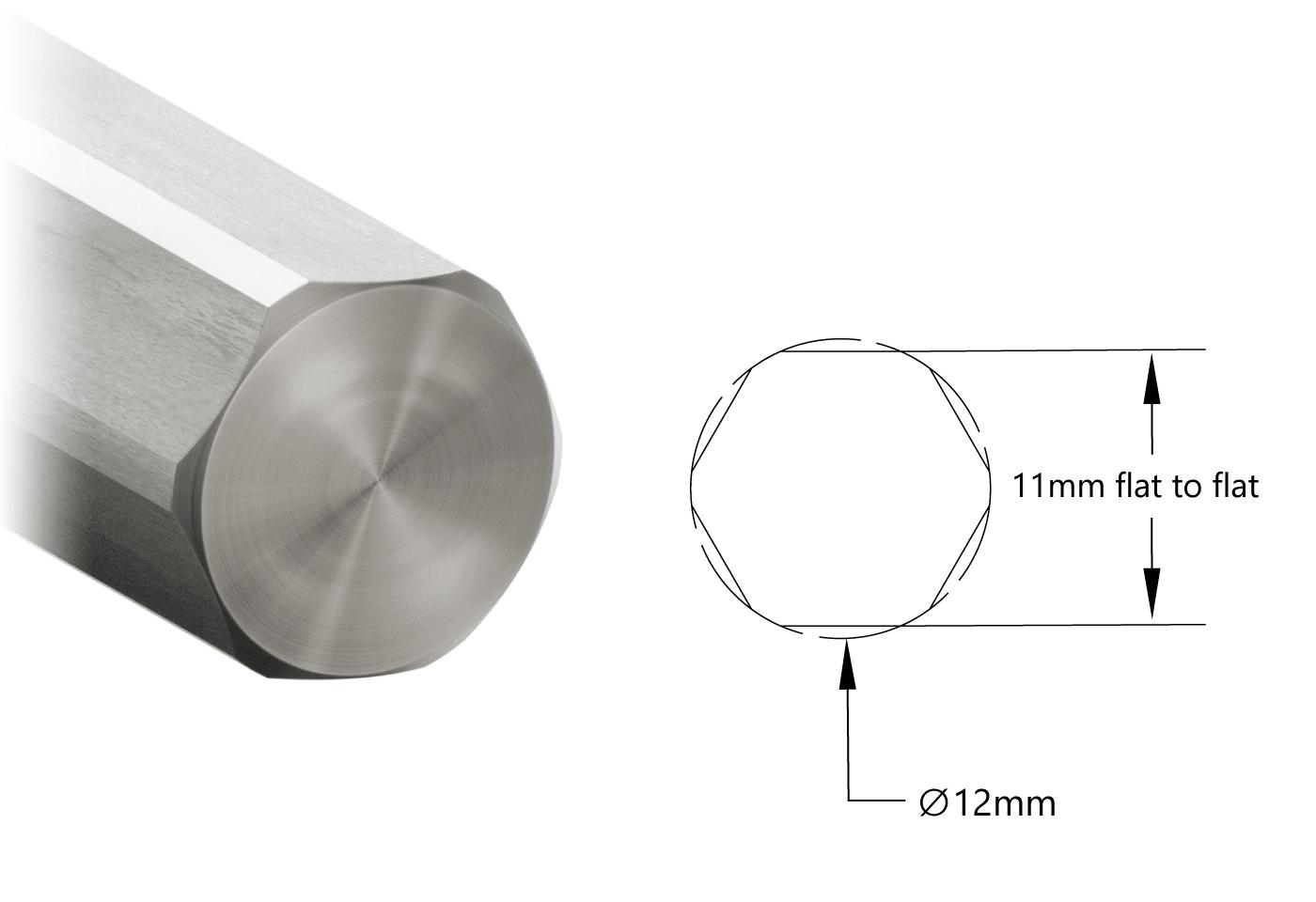 2102 Series 12mm REX Shafting