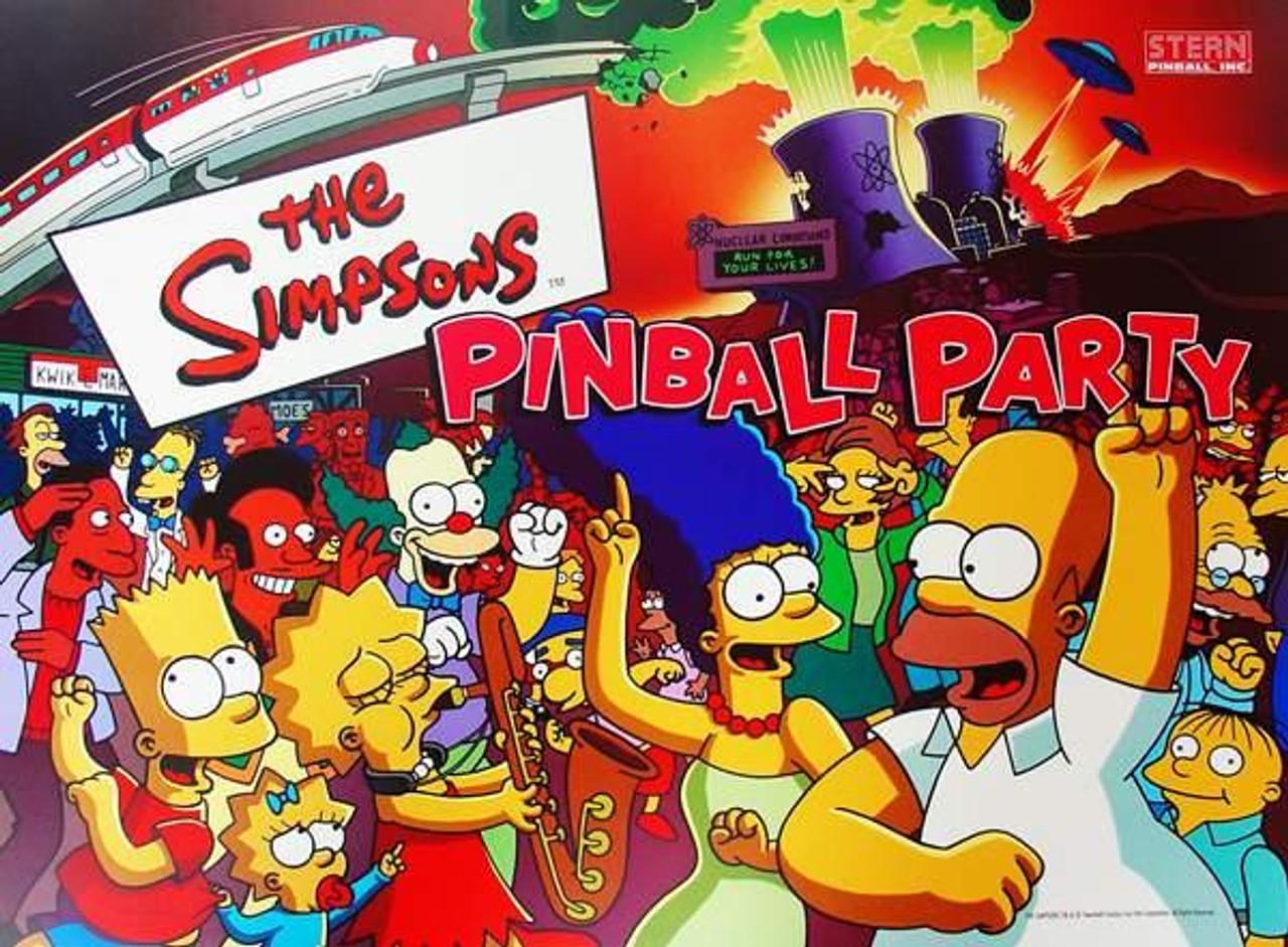 Update flipper Simpson Party pinball ***
