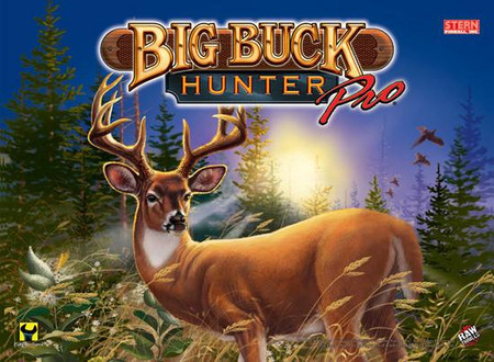 "Stern Big Buck Hunter Pro Enhanced Animated LED Backbox Light Replacement ""Two Versions""  Dimmable"