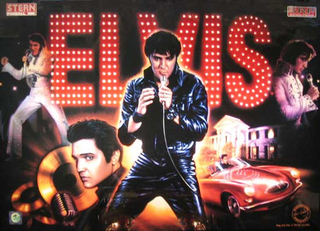 "Stern Elvis Animated LED Replacement Panel ""Two Versions""  Dimmable"