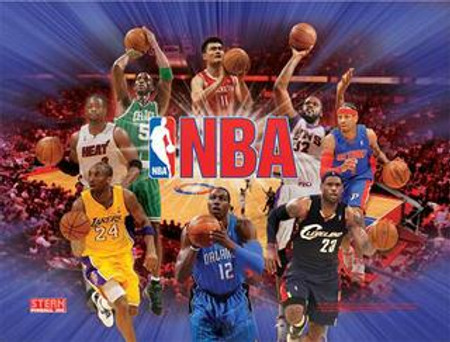 """Stern NBA Animated LED Replacement Panel.  """"Two Versions""""  Dimmable"""