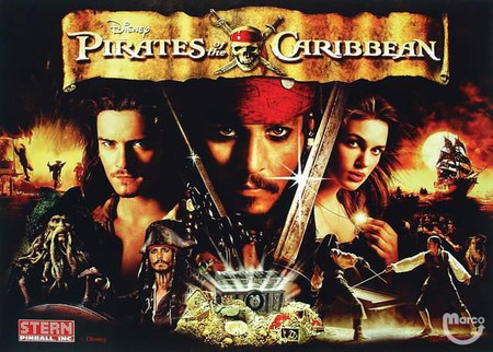 "Stern Pirates of the Caribbean Enhanced Animated LED Backbox Light Replacement "" Two Versions Available""  Dimmable"