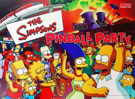 """Stern Simpsons Pinball Party Enhanced Animated LED Backbox Light Replacement """"Two Versions""""  Dimmable"""