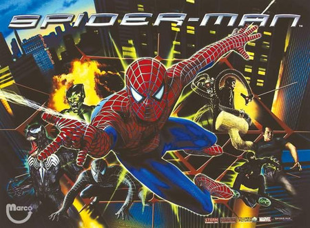 """Stern Spiderman Enhanced Animated Backbox LED Light Replacement """"Two Versions""""  Dimmable"""
