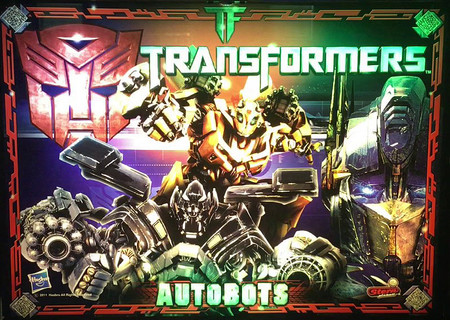 """Stern Transformers LE Autobot Animated LED Replacement Panel.  """"Two Versions"""" Dimmable"""