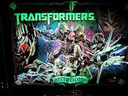 "Stern Transformers LE Decepticon Animated LED Replacement Panel.  ""Two Versions"" Dimmable"