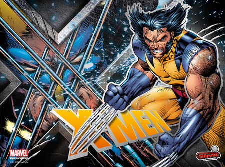Stern X-Men LE Wolverine Enhanced Animated LED Backbox Light Replacement.  Dimmable.  Two Versions