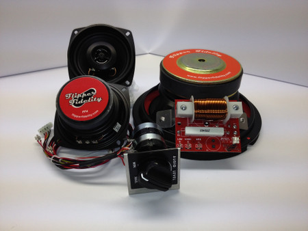 Complete Replacement Speaker System for Data East V3B