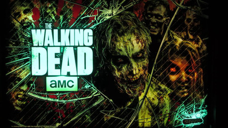 "Stern The Walking Dead LE Enhanced Animated LED Backbox Light Replacement. ""Two Versions""  Dimmable"