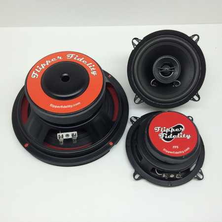 Williams/Bally Complete Replacement Speaker System for WPC93 DCS Machines with PinSound Audio Boards