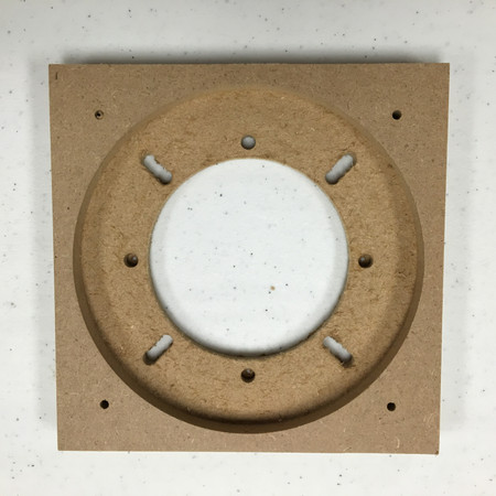 """5"""" Square Wood Adaptor for Williams and Bally WPC machines"""