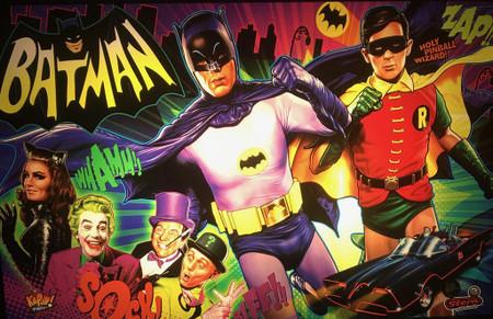 Stern Batman 66 Premium LED Backbox Light Replacement.  Dimmable