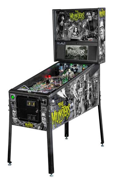 Stern Munsters Premium Pinball Machine - Black&White