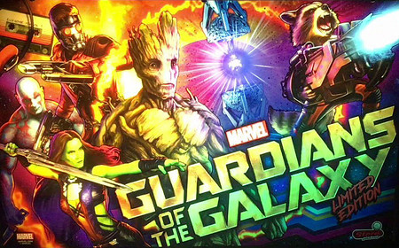 Stern Guardians of the Galaxy LE Animated LED Backbox Light Replacement.  Dimmable