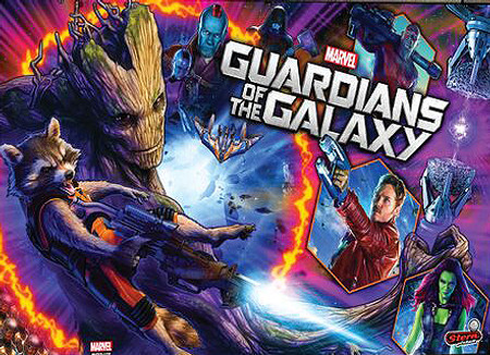 Stern Guardians of the Galaxy Premium Animated LED Backbox Light Replacement.  Dimmable