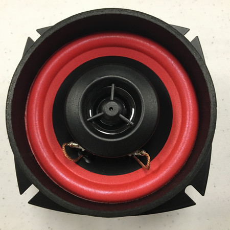 "4/4 4"" Ohm Speaker Front"
