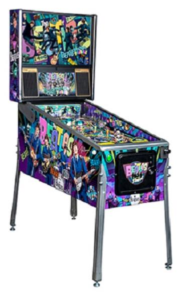 Stern Beatles Platinum Pinball Machine