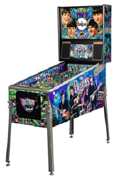 Stern Beatles Diamond Pinball Machine
