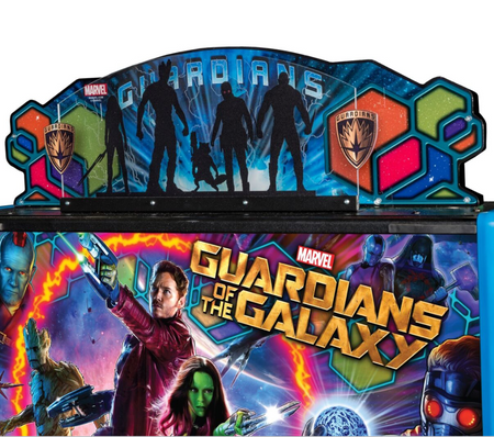Stern Guardians of The Galaxy Topper
