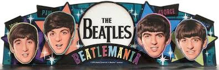 Stern Beatles Pinball Topper Mod