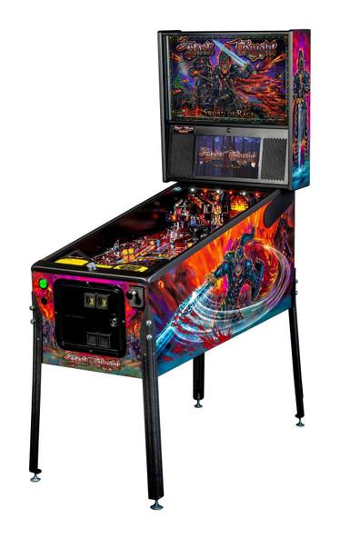 Stern BLACK KNIGHT: SWORD OF RAGE Premium Pinball Machine