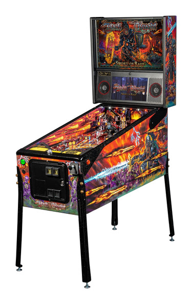 Stern BLACK KNIGHT: SWORD OF RAGE LE Pinball Machine