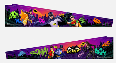 Stern Inside Art Blade for Batman&Catwoman Pinball Machines - limited run