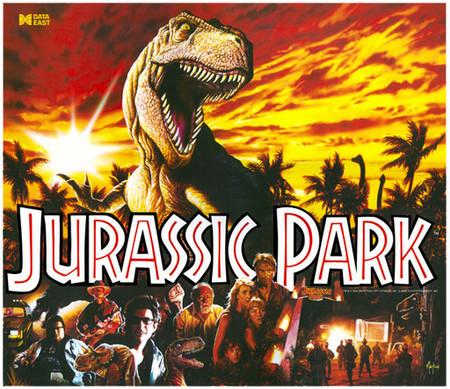 Jurassic Park Translite