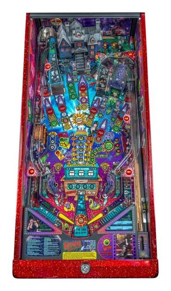 Stern Elvira House or Horrors Premium Pinball Machine