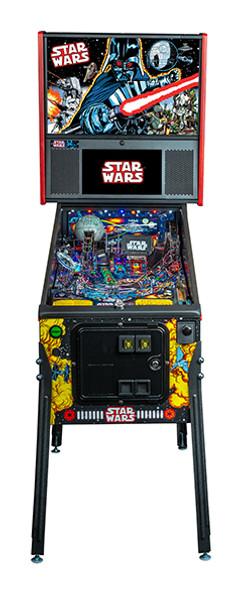 Stern Star Wars Comic Premium Pinball Machine