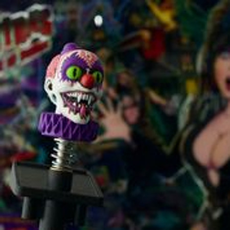 Elvira House of Horrors Shooter Knob & Rod