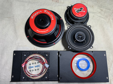 "Stern 8"" Speaker System LE Conversion for Spike 2 Pro and Premium"
