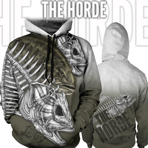 The Horde Fishing Hoodie - Smallmouth